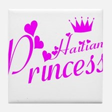 Haitiian Princess Tile Coaster