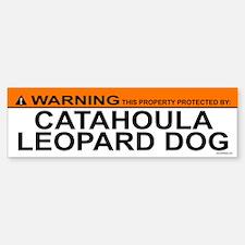 CATAHOULA LEOPARD DOG Bumper Car Car Sticker