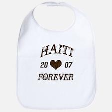 Haiti Forever Bib
