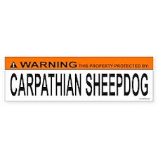 CARPATHIAN SHEEPDOG Bumper Bumper Sticker