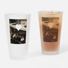 Baked Percussionists Drinking Glass