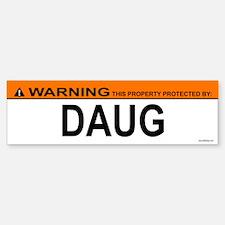 DAUG Bumper Bumper Bumper Sticker