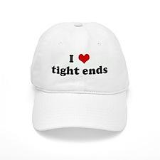 I Love tight ends Baseball Cap
