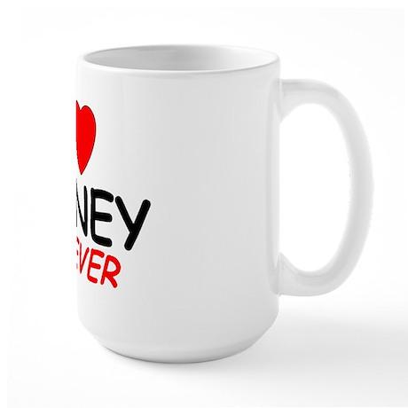 I Love Barney Forever - Large Mug