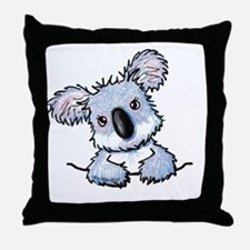 Pocket Koala Throw Pillow