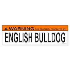 ENGLISH BULLDOG Bumper Bumper Sticker
