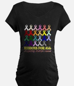 ...Ribbons For All... T-Shirt