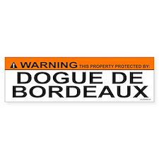 DOGUE DE BORDEAUX Bumper Bumper Bumper Sticker
