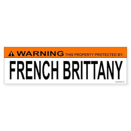 FRENCH BRITTANY Bumper Sticker