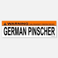 GERMAN PINSCHER Bumper Bumper Bumper Sticker