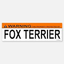 FOX TERRIER Bumper Bumper Bumper Sticker