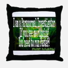 Cool Paranormal Throw Pillow