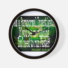 Cute Paranormal Wall Clock