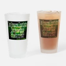 Cute Paranormal Drinking Glass