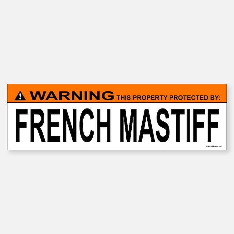 FRENCH MASTIFF Bumper Bumper Bumper Sticker