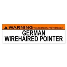 GERMAN WIREHAIRED POINTER Bumper Bumper Sticker