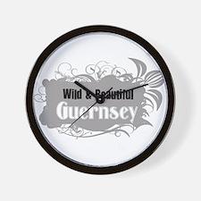Wild Guernsey Wall Clock