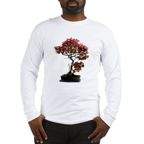 Red Leaf Bonsai Long Sleeve T-Shirt