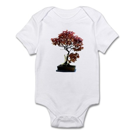 Red Leaf Bonsai Infant Bodysuit