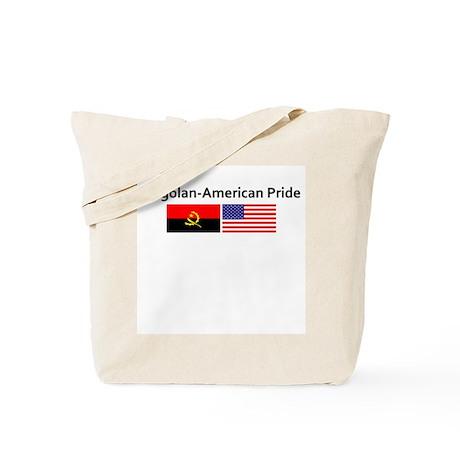 Angolan American Pride Tote Bag