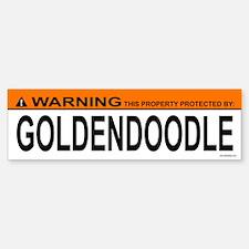 GOLDENDOODLE Bumper Bumper Bumper Sticker