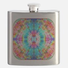 Rainbow Sunburst Flask
