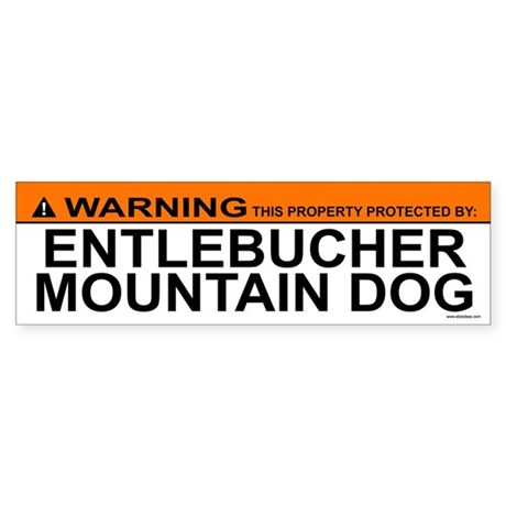 ENTLEBUCHER MOUNTAIN DOG Bumper Sticker