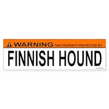 FINNISH HOUND Bumper Bumper Sticker