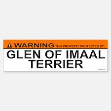 GLEN OF IMAAL TERRIER Bumper Bumper Bumper Sticker