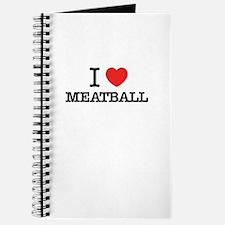 I Love MEATBALL Journal