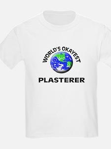 World's Okayest Plasterer T-Shirt