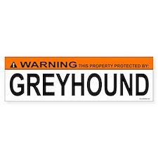 GREYHOUND Bumper Bumper Sticker