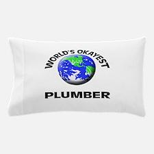 World's Okayest Plumber Pillow Case