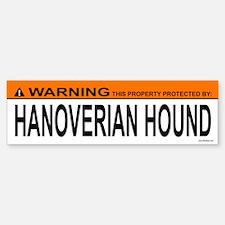 HANOVERIAN HOUND Bumper Bumper Bumper Sticker