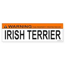 IRISH TERRIER Bumper Bumper Sticker