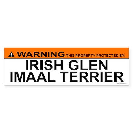 IRISH GLEN IMAAL TERRIER Bumper Sticker