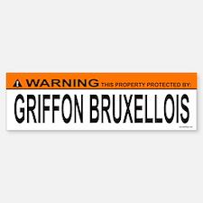 GRIFFON BRUXELLOIS Bumper Bumper Bumper Sticker