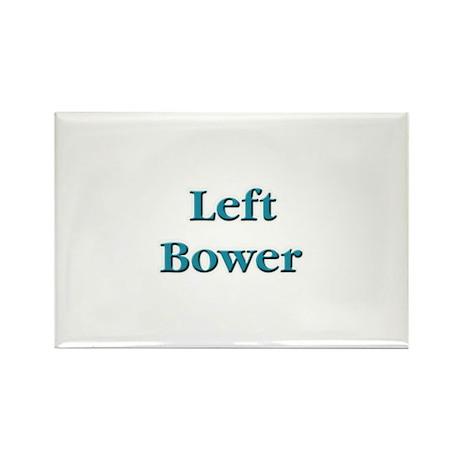 Left Bower Euchre Rectangle Magnet (10 pack)