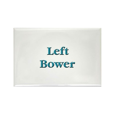 Left Bower Euchre Rectangle Magnet (100 pack)