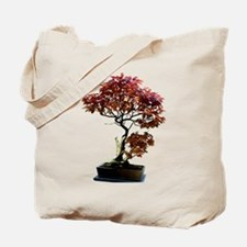 Red Leaf Bonsai Tote Bag