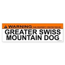 GREATER SWISS MOUNTAIN DOG Bumper Bumper Sticker