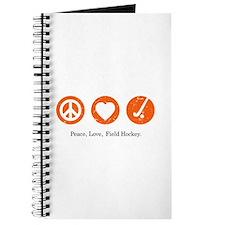 PEACE. LOVE. FIELD HOCKEY Journal