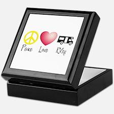 Peace, Love, RVing Keepsake Box
