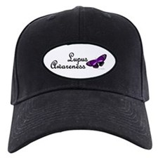Butterfly Awareness 3 (Lupus) Baseball Hat