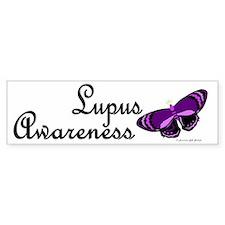 Butterfly Awareness 3 (Lupus) Bumper Bumper Sticker