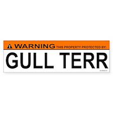 GULL TERR Bumper Bumper Sticker