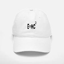 E=MC2 (black) Baseball Baseball Cap