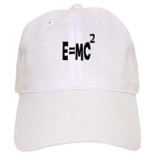 E=MC2 (black) Baseball Cap
