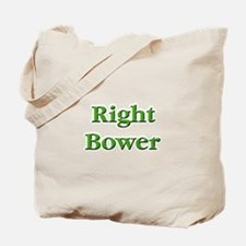Right Bower Euchre Tote Bag