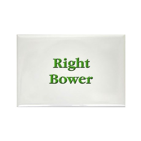 Right Bower Euchre Rectangle Magnet (10 pack)